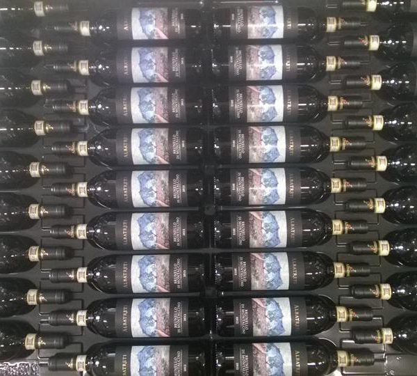 albatreti bottiglie Brunello